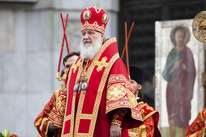 Patriarch Kirill of the Russian Orthodox Church. Credit: Nickolay Vinokurov via www.shutterstock.com.