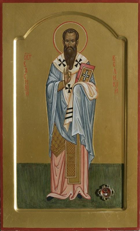 Картинки по запросу Василий Великий иконы